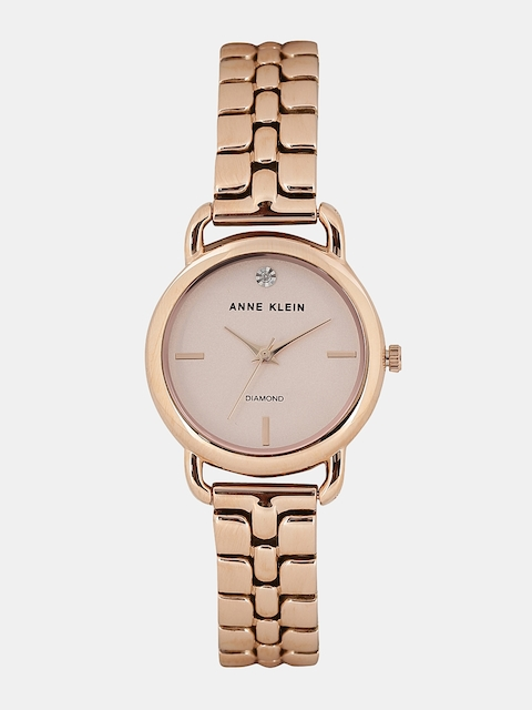 ANNE KLEIN Women Gold-Toned Analogue Watch
