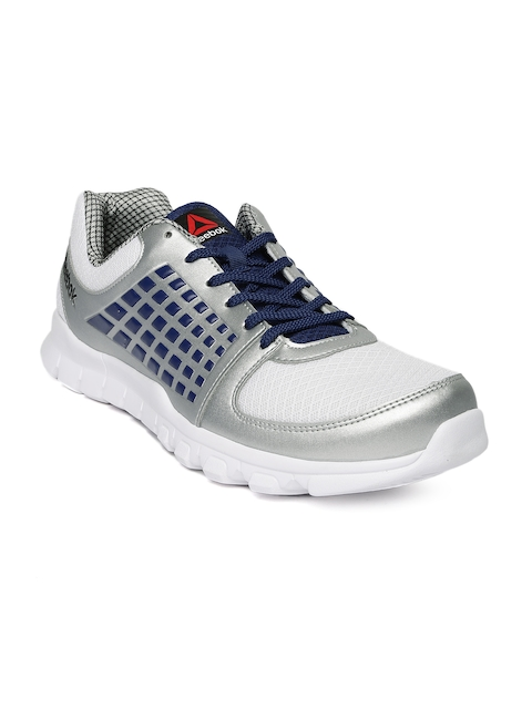 Reebok Men Silver-Toned ELECTRIFY SPEED Running Shoes