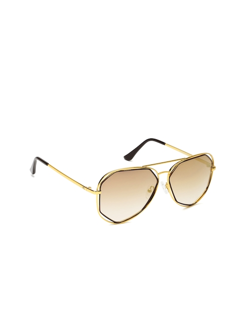 French Connection Men Mirrored Aviator Sunglasses FC 7386 C2 S