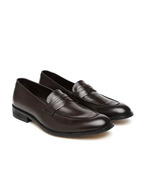 Hidesign Men Brown Semiformal Slip-Ons