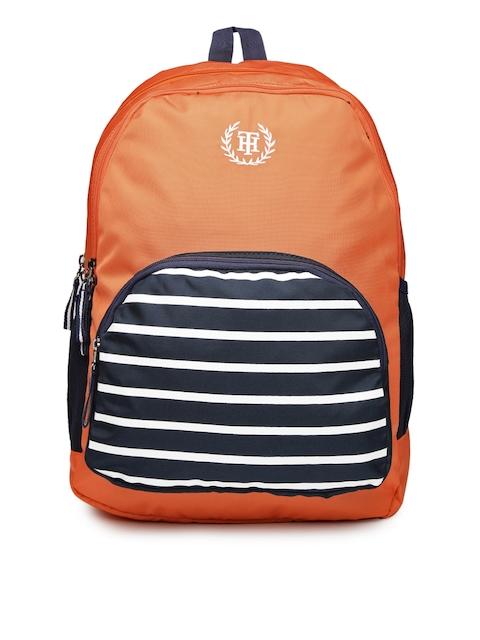 Tommy Hilfiger Unisex Orange Backpack
