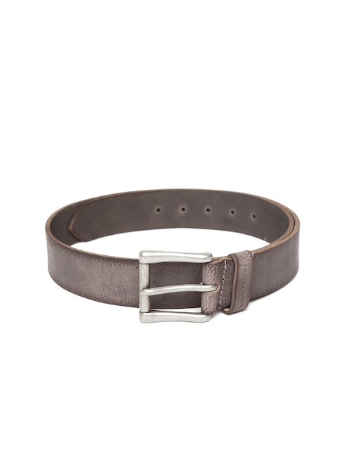 Lino Perros Men Brown Genuine Leather Belt