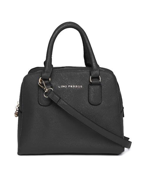 Lisa Haydon for Lino Perros Black Solid Handheld Bag