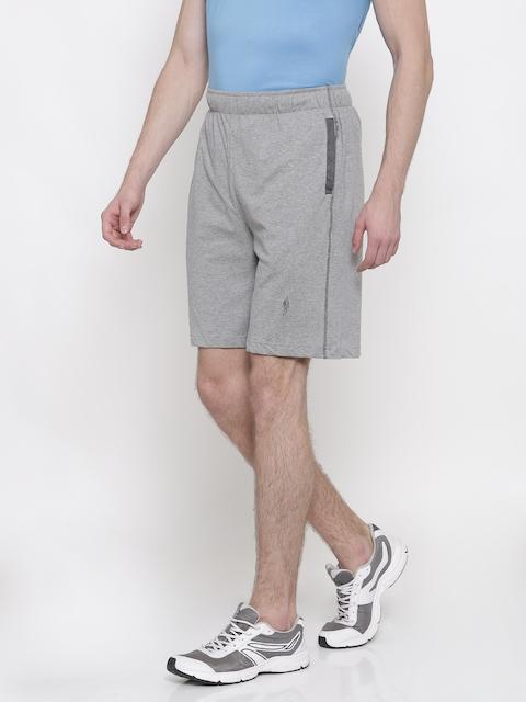 Jockey Men Grey Solid Regular Fit Shorts