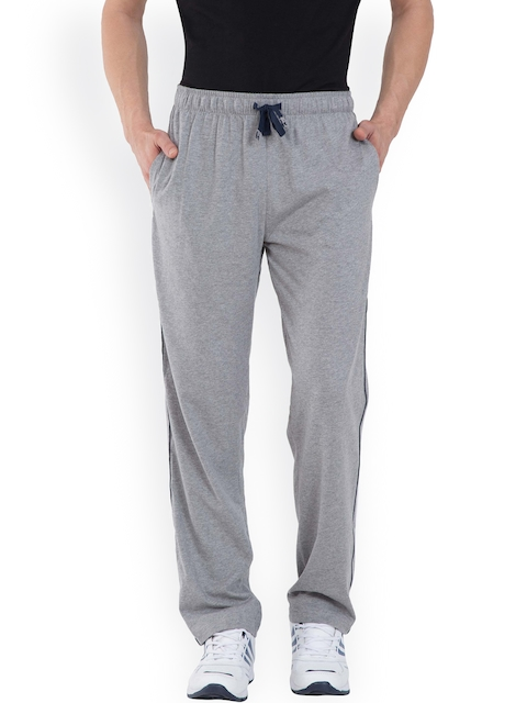 Jockey Grey Melange Solid Track Pants