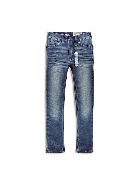 next Boys Blue Regular Fit Mid-Rise Clean Look Jeans