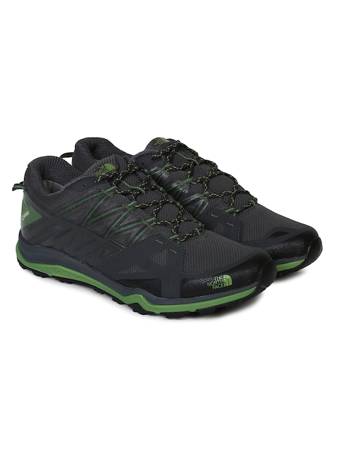 The North Face Men Charcoal Grey HEDGEHOG FASTPACK LITE II GTX Hiking Shoes
