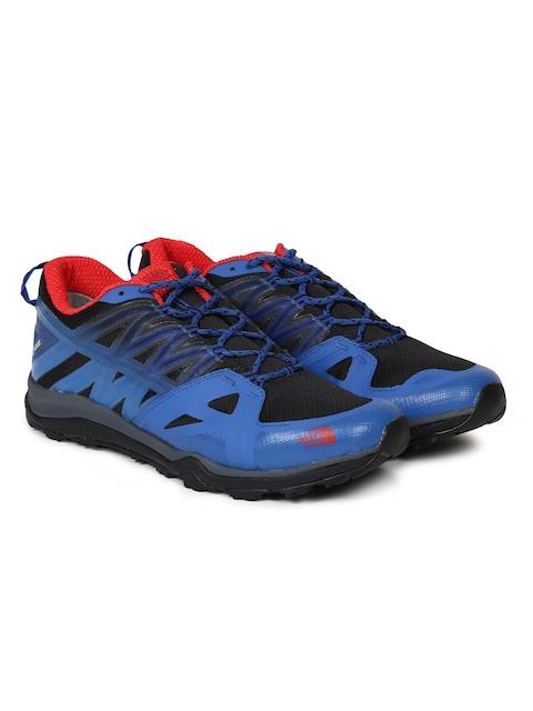 The North Face Men Blue HEDGEHOG FASTPACK LITE II GTX Hiking Shoes
