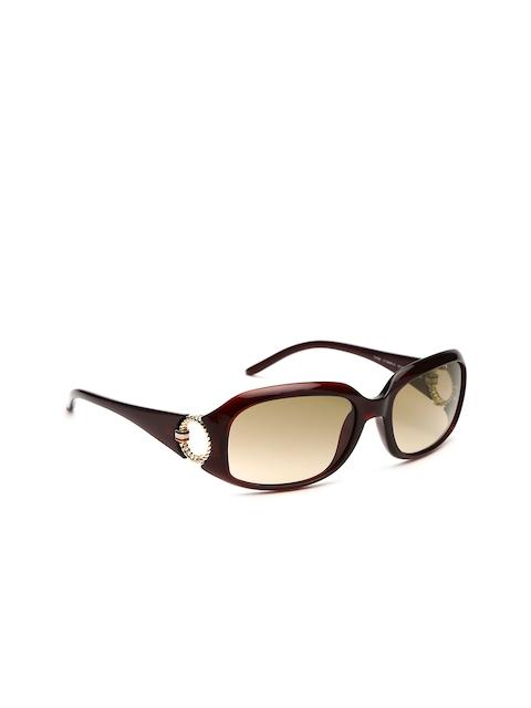 Tommy Hilfiger Women Rectangle Sunglasses 7898 Winbr 34 C7 S