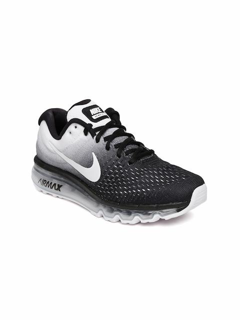 Nike Women Black & White Air Max 2017 Running Shoes