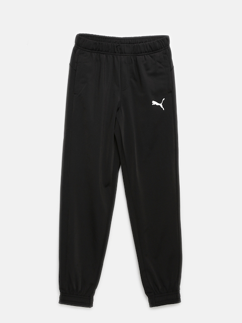 Puma Boys Black ESS No.1 Lounge Pants