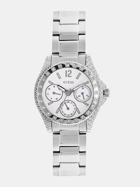 GUESS Women White Multifunction Watch W0938L1