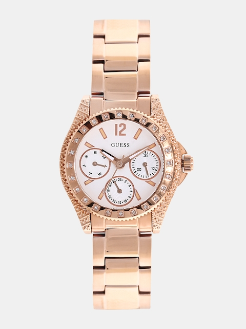 GUESS Women White Multifunction Watch W0938L3