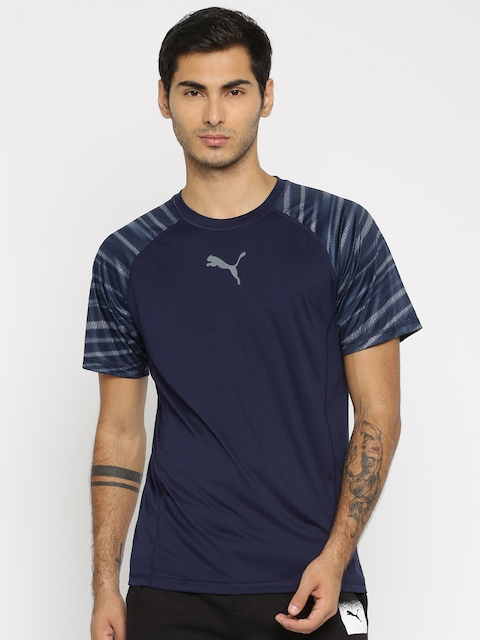 Puma Men Navy T-shirt