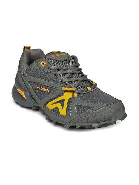 Wildcraft Men Grey Craggrip Trail Running Shoes