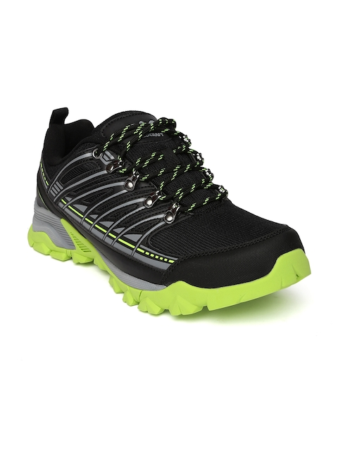 Wildcraft Unisex Black & Green Dolstone Trekking Shoes