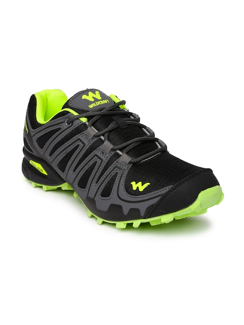 Wildcraft Men Black Running Shoes