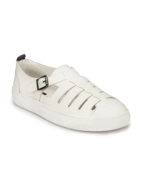 Mactree Men White Sandals
