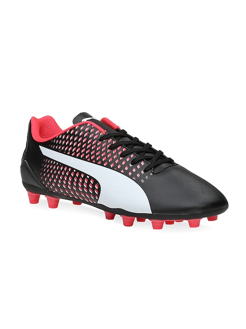 Puma Men Black Adreno III Football Shoes