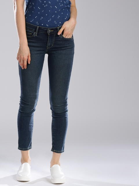 Levis 311 Blue Shaping Skinny Stretchable Jeans