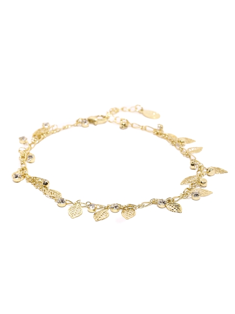 Accessorize Gold-Toned Charm Bracelet