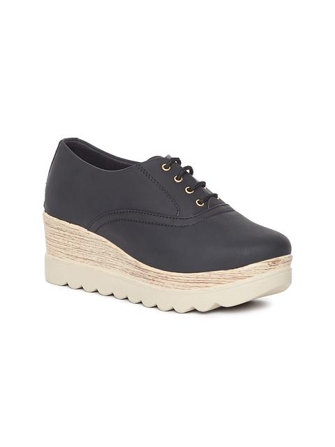 Marc Loire Women Black Solid Heeled Shoes
