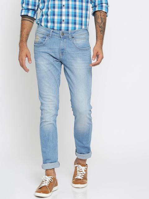 Wrangler Men Blue Skinny Fit Stretchable Jeans