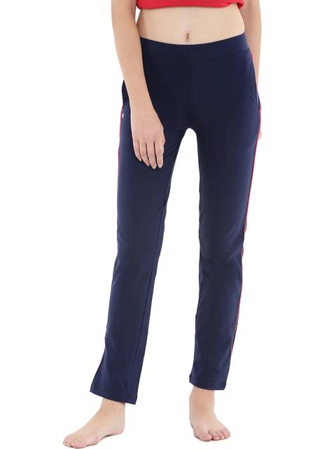 Floret Navy Slim Fit Lounge Pants P-20015