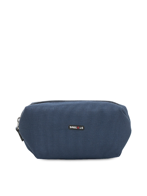 Bags.R.us Unisex Navy Travel Pouch