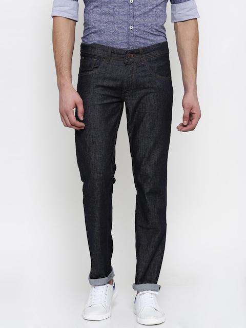 Park Avenue Men Blue Tapered Fit Stretchable Jeans
