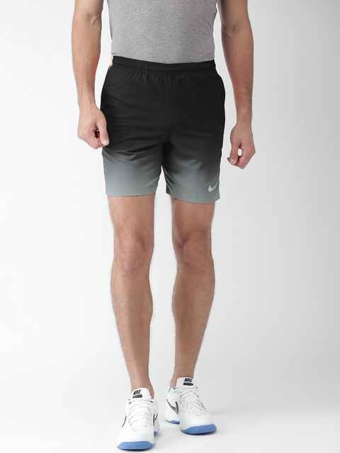 Nike Black & Grey AS CR7 SQD GX WZ Sports Shorts  available at myntra for Rs.918