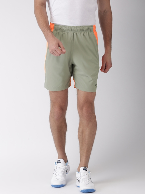 Nike Men Grey AS FLX Short Woven Sports Shorts  available at myntra for Rs.678