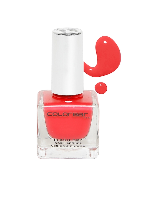 Colorbar Fearless Red Flash Dry Nail Lacquer 218