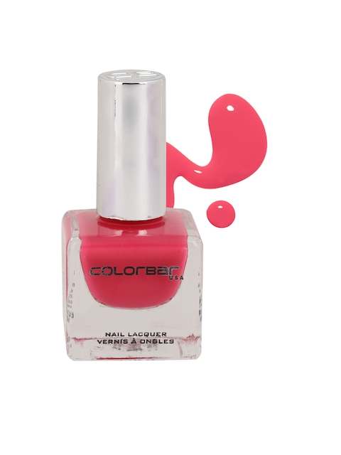Colorbar Flaming Fiesty Pink Nail Lacquer 121