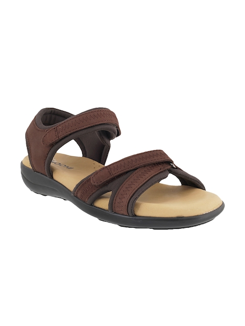 Mochi Women Brown Sports Sandals