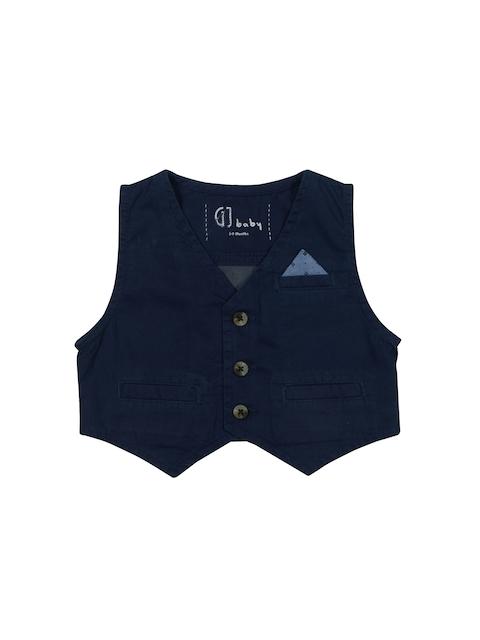 Gini and Jony Boys Navy Blue Waistcoat
