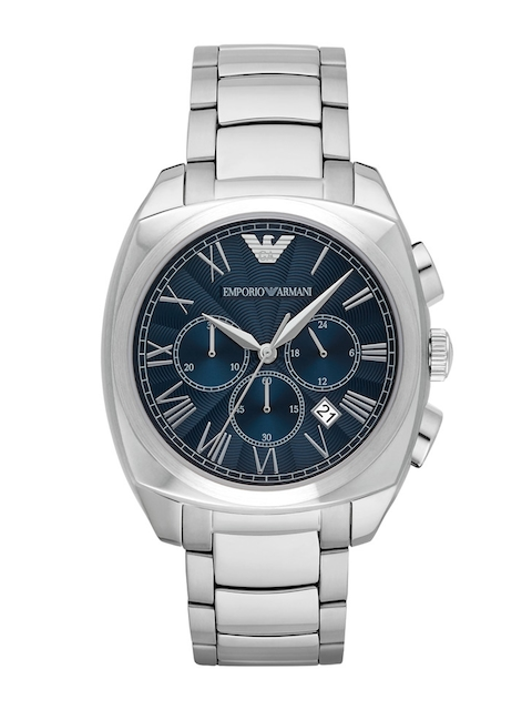 Emporio Armani Men Blue Chronograph Analogue Watch AR1938I