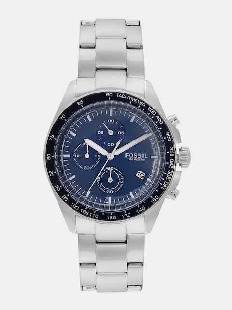 Fossil Navy Analogue Men's Watch, CH3030