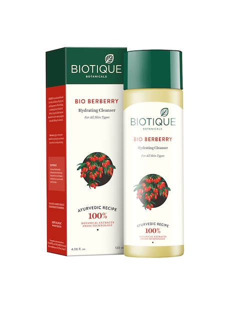 Biotique Bio Berberry Hydrating Cleanser 120 ml