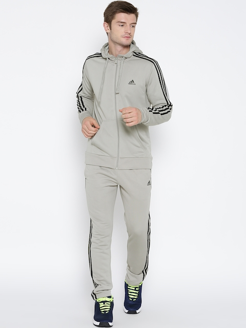 Adidas Grey New PES HOJO Hooded Track Suit