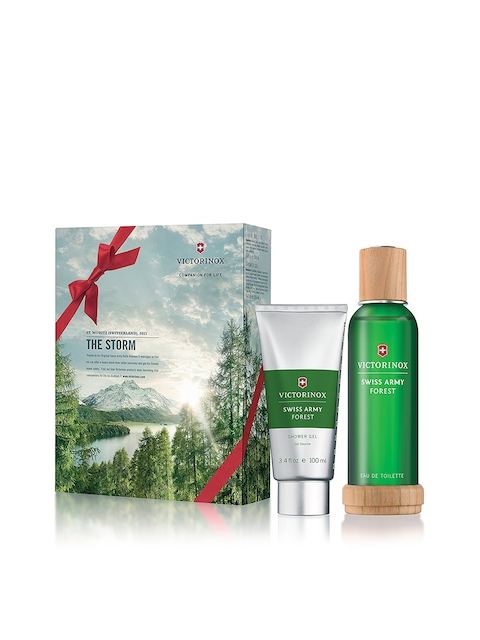 Swiss Army Victorinox Forest Gift Set with Shower Gel