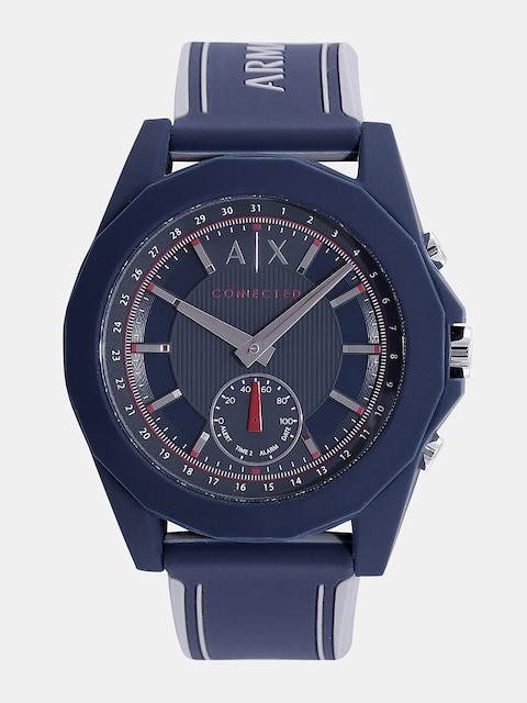 Armani Exchange Men Blue Analogue Hybrid Watch AXT1002