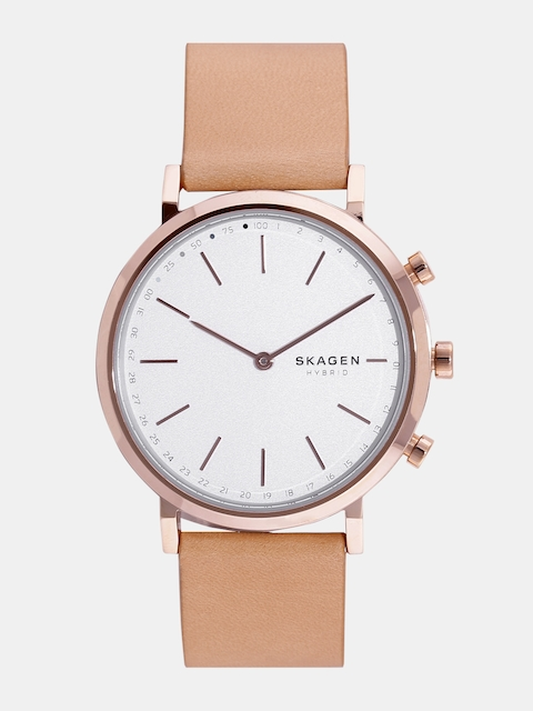 SKAGEN Women Silver-Toned Hybrid Watch SKT1204