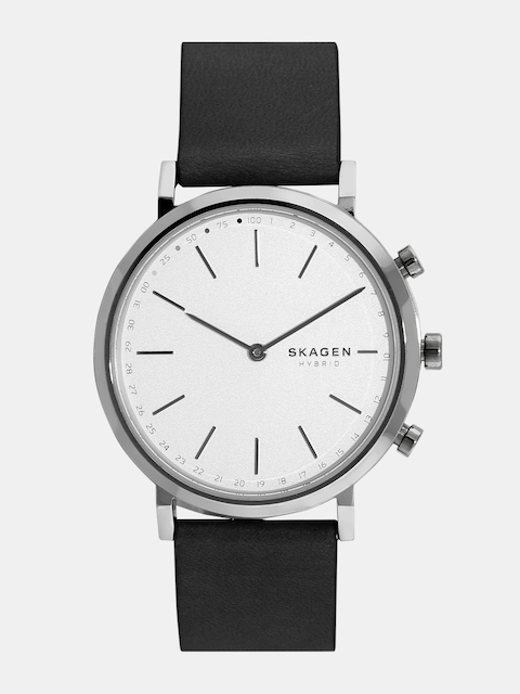 SKAGEN Women Silver-Toned Hybrid Watch SKT1205