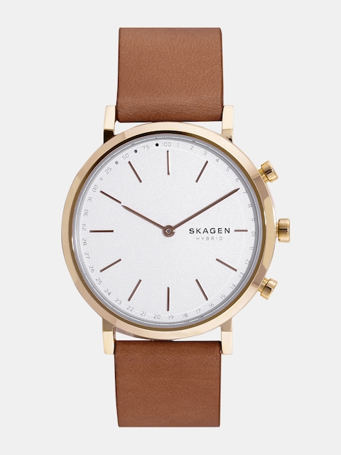 SKAGEN Women Silver-Toned Hybrid Watch SKT1206