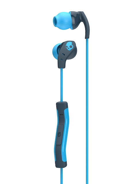 Skullcandy Blue & Black Method Wired In-Ear Earphones with Mic S2CDY-K477
