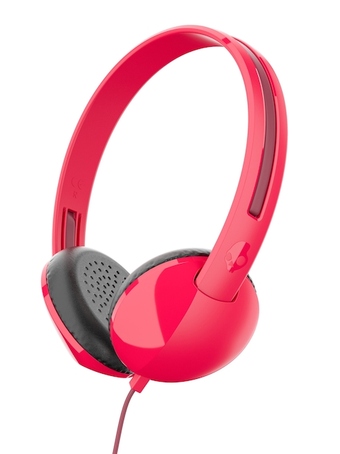 Skullcandy Red & Burgundy Stim Over-Ear Headphones with Mic S2LHY-K570