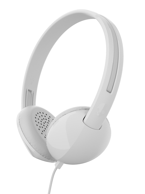 Skullcandy White & Grey Stim Over-Ear Headphones with Mic S2LHY-K568
