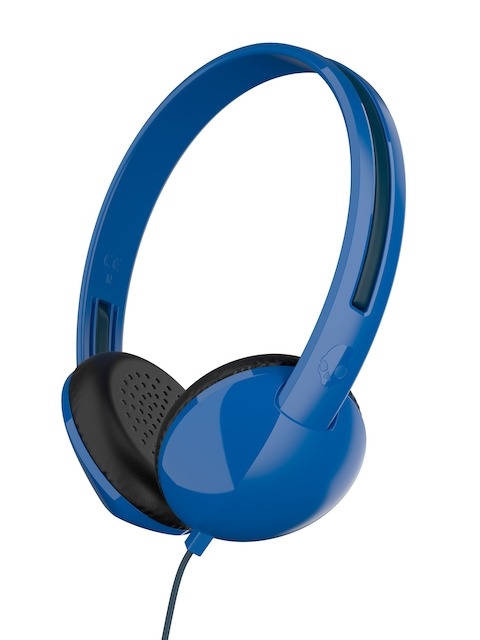 Skullcandy Blue & Black Stim Over-Ear Headphones with Mic S2LHY-K569