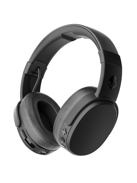 Skullcandy Black Crusher Wireless Over-Ear Headphones with Mic S6CRW-K591